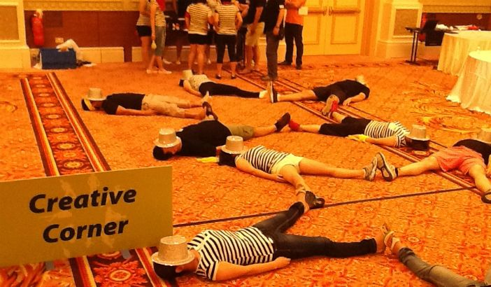 This activity will provide great team bonding - the different groups will complete all the different challenges in a rotation system.