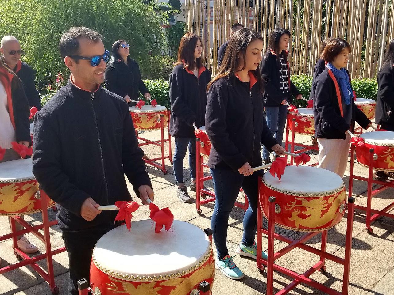 Team Bonding - drumming team building in Macau